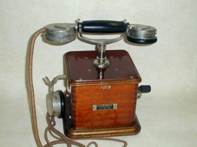 Téléphone Marty, 1910 (site alainlevasseur)