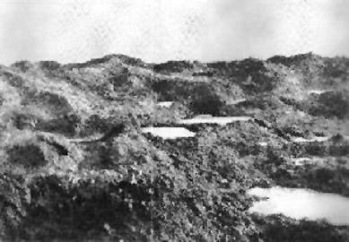 « Un chaos de trous d'obus remplis d'eau » (site lesfrancaisaverdun-1916.fr)