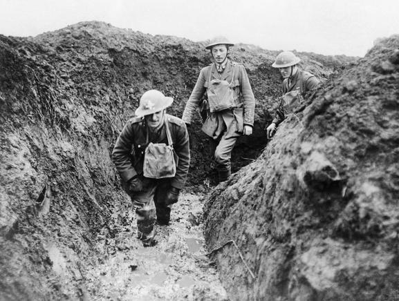 L'armée britannique sur le front ouest (Site paysagesenbataille.be, page boues infernales du front)