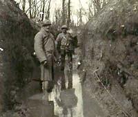 Tranchée sous la pluie (site du Travet, petite commune du Tarn)