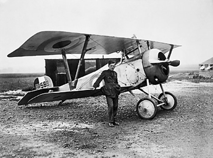 Nieuport 17 du Lt-colonel Bishop (site aviationsmilitaires.net)
