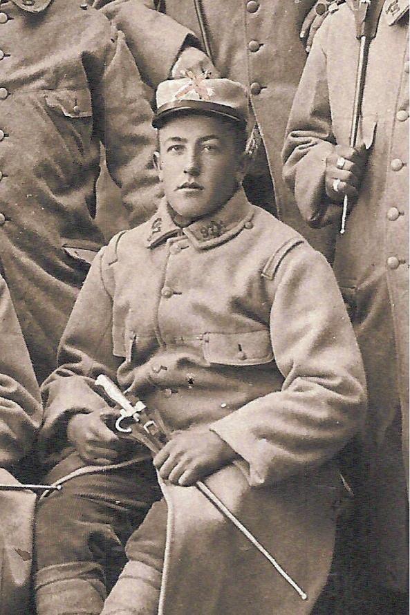 Le Passerand Joseph Buttoudin tué le 24 octobre 1916 (Doc. Gérard Buttoudin)