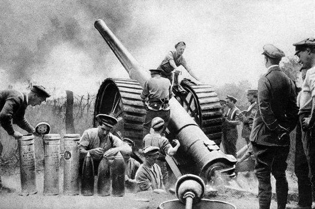 Artillerie britannique (site acier et tranchées, blog de l'histoire militaire de la Grande Guerre)