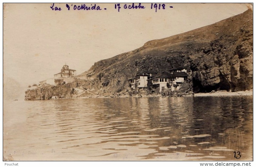 Lac d'Ockrida (site Delcampe.net)