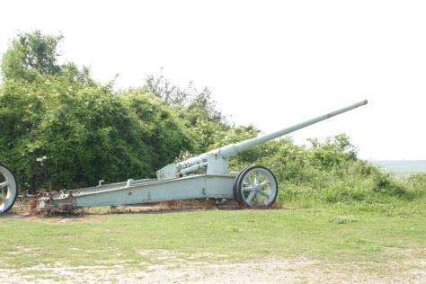 Canon de 155mm Grande Puissance Filloux (GPF) (site clausuchronia)