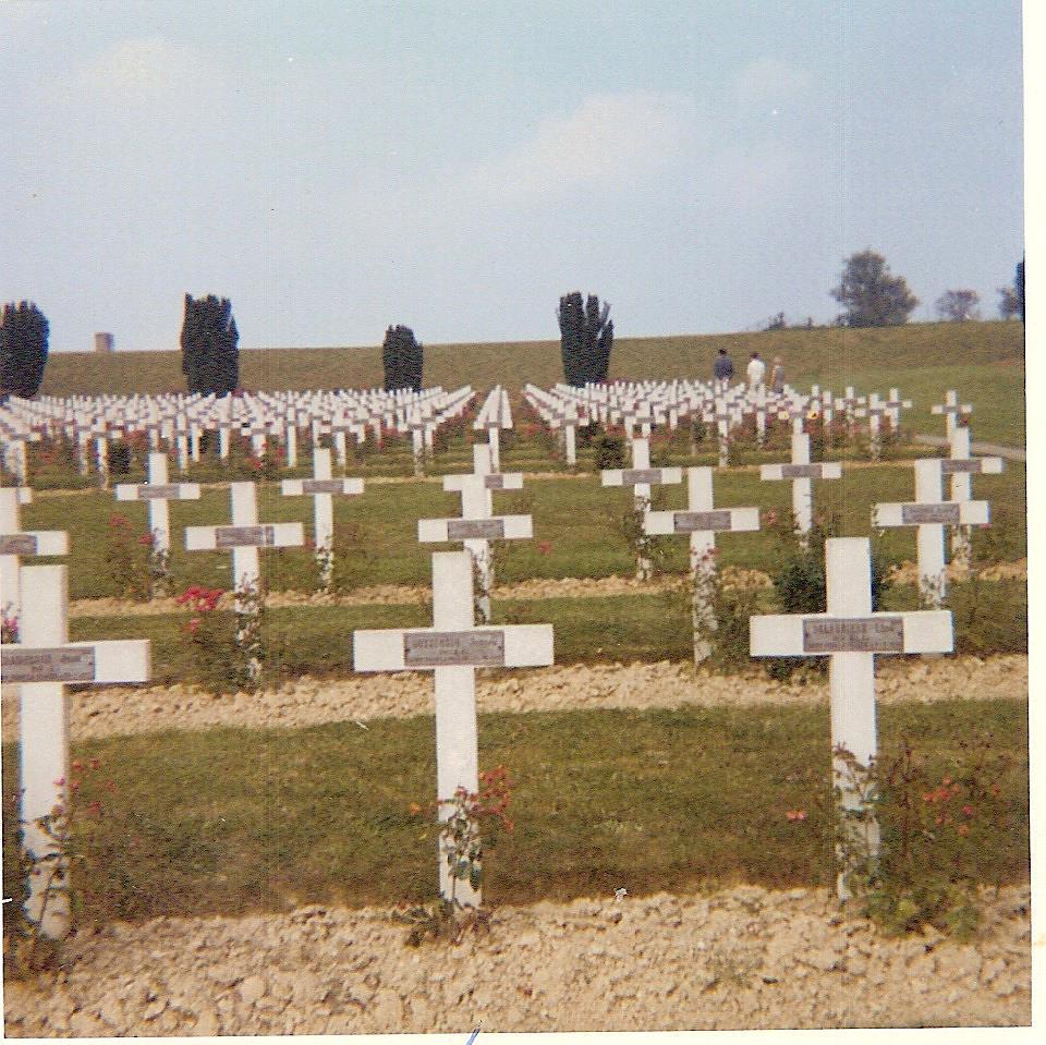 Tombe de Joseph Buttoudin à Douaumont (Doc. Gérard Buttoudin)
