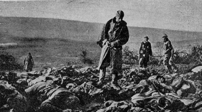 Cadavres de poilus au Mort-Homme