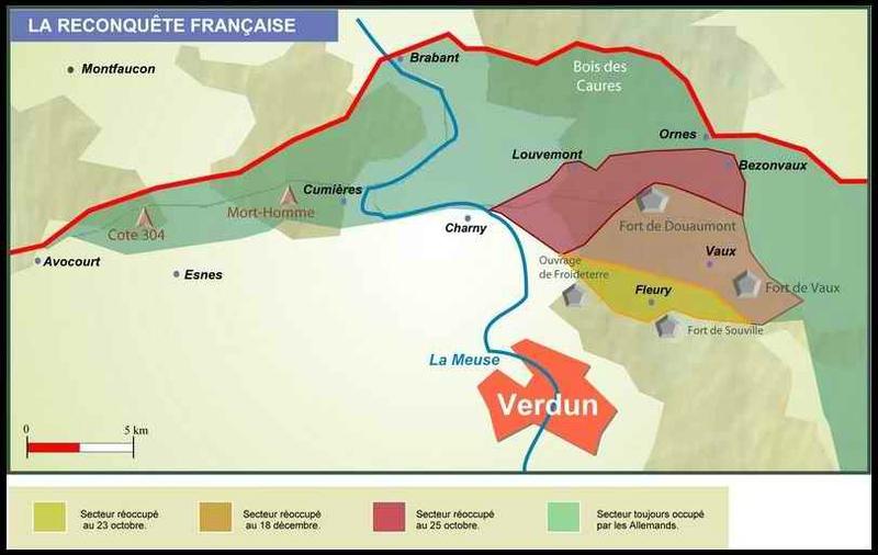 La reconquête française à Verdun, octobre-décembre 1916 (site 87dit)