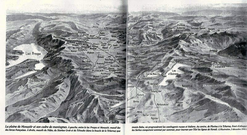 La plaine de Monastir et son cadre de montagnes (site lesmidi.canalblog.com)