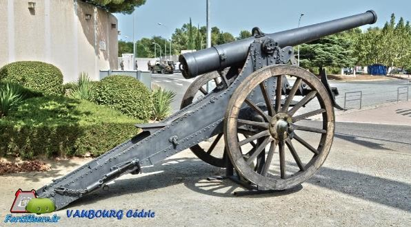 Canon de 120 Long modèle 1878 (site fortiffsere.fr)