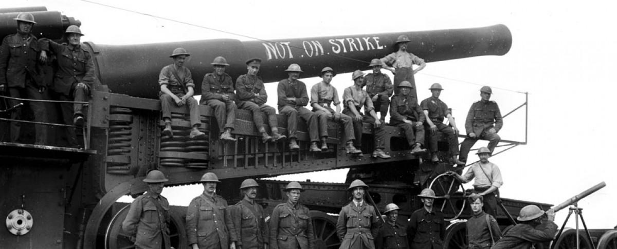 Artillerie lourde britannique (site acier et tranchées, blog de l'histoire militaire de la Grande Guerre)