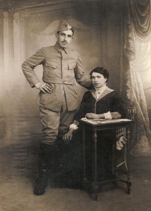 Félix et Marie (Doc. famille Devillaz)