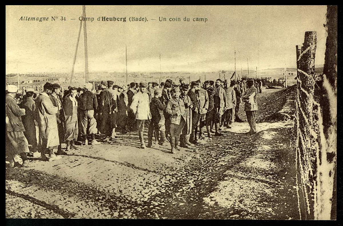 Heuberg, Bade. Un coin du camp (CICR, Allemagne, n°34) site du CICR