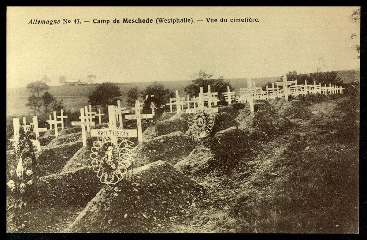 Meschede, Westphalie. Vue du cimetière (CICR, Allemagne, n°47) site CICR