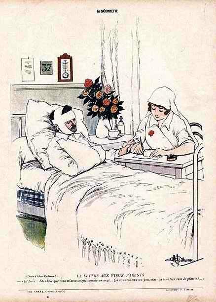 La lettre aux vieux parents (site 87dit.canalblog.com)