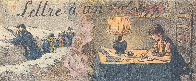 Lettre à un soldat (site voyageurs-du-temps.fr)