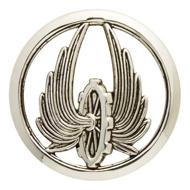 Insigne de béret du train (Wikipedia, art. « Train » (armée française)