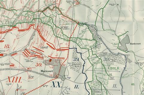 Maricourt, en bas à gauche (site chavasseferme.com)