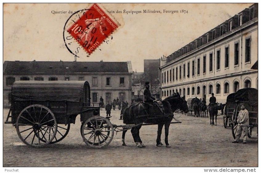 Fourgon du 19e ETEM (site Delcampe)