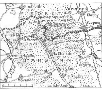 Forêt d'Argonne et La Harazée (site chtimiste.com)