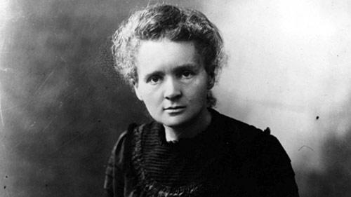 Marie Curie (site tuxboard.com)