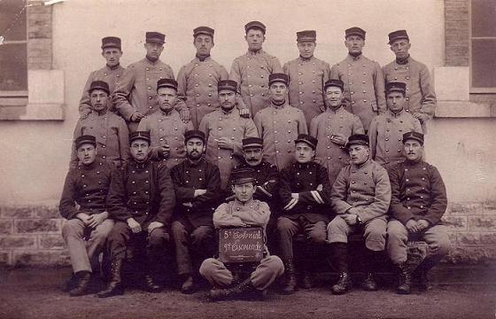 Soldats du 5e RIC, mars 1915 (site chtimiste, page regiments coloniaux)