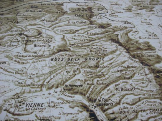 Bois de la Grurie et La Harazée (site guerre1418sysvalfer.e-monsite.com)
