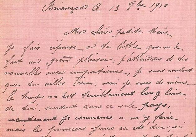 lettre de soldats première guerre mondiale