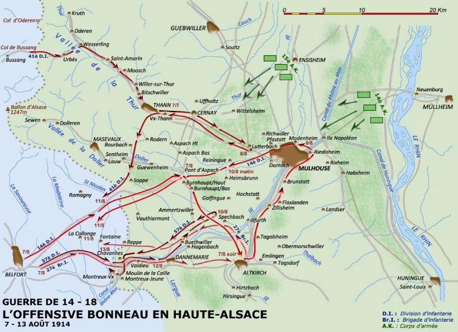 Carte Haute Alsace.Le 297e Ri A Steinbach Cote 425 Janvier 1915 Fusilles