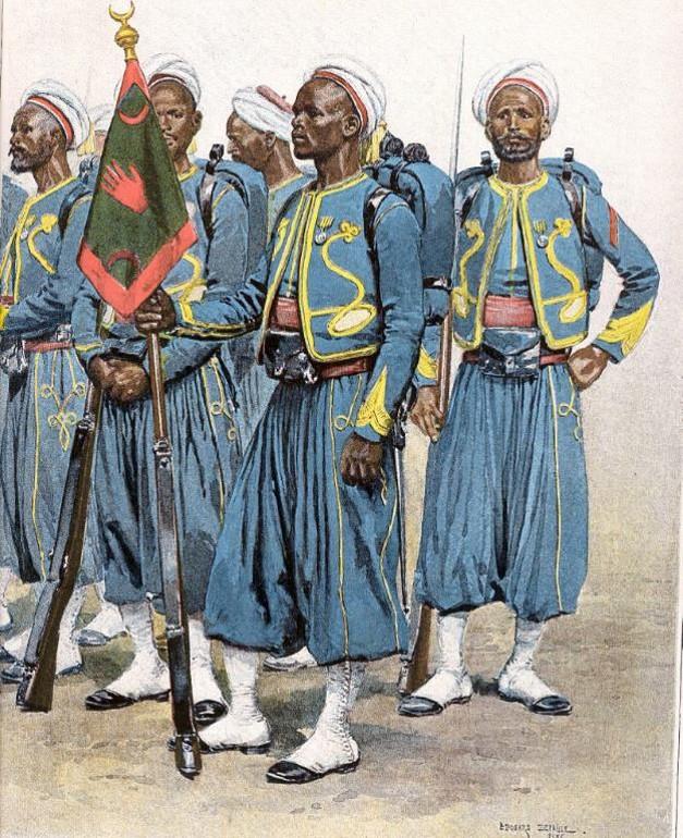 INSIGNE INFANTERIE D/'AFRIQUE BAT FRA 2006 1° Régiment de Tirailleurs N° 01